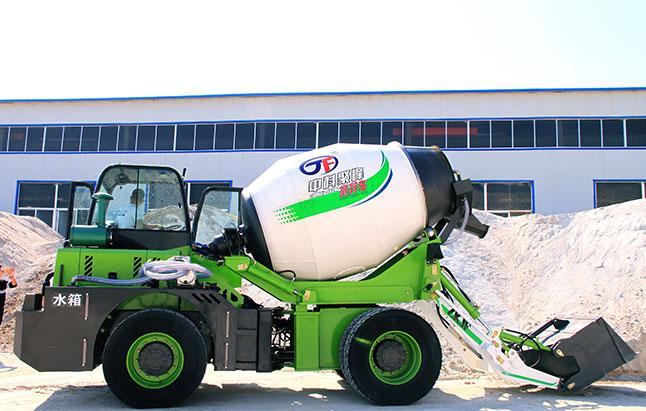 为什么混凝土搅拌车罐体要用白色?
