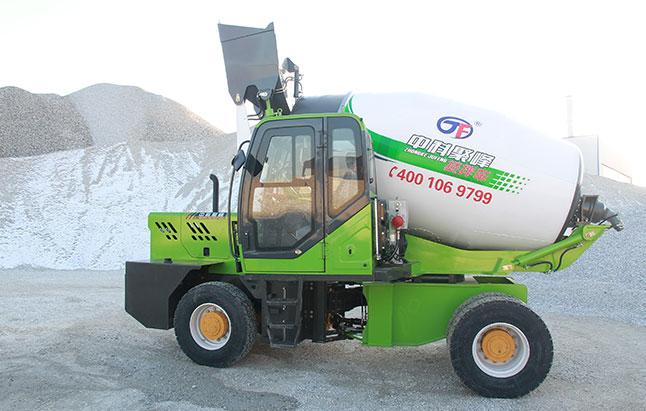 你知道自动搅拌车如果漏油的处理方法吗?